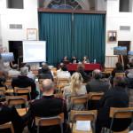 """Carlo Ruggiero presenta il suo """"Cattive Acque"""" ad Anagni  Sala Delle Lapidi , Palazzo Bonifacio VIII - 11 aprile 2014"""