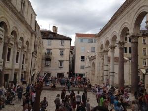Spalato, peristilio di piazza del Palatium