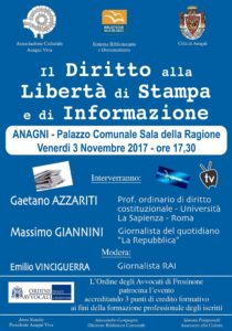 conferenza 3 novembre