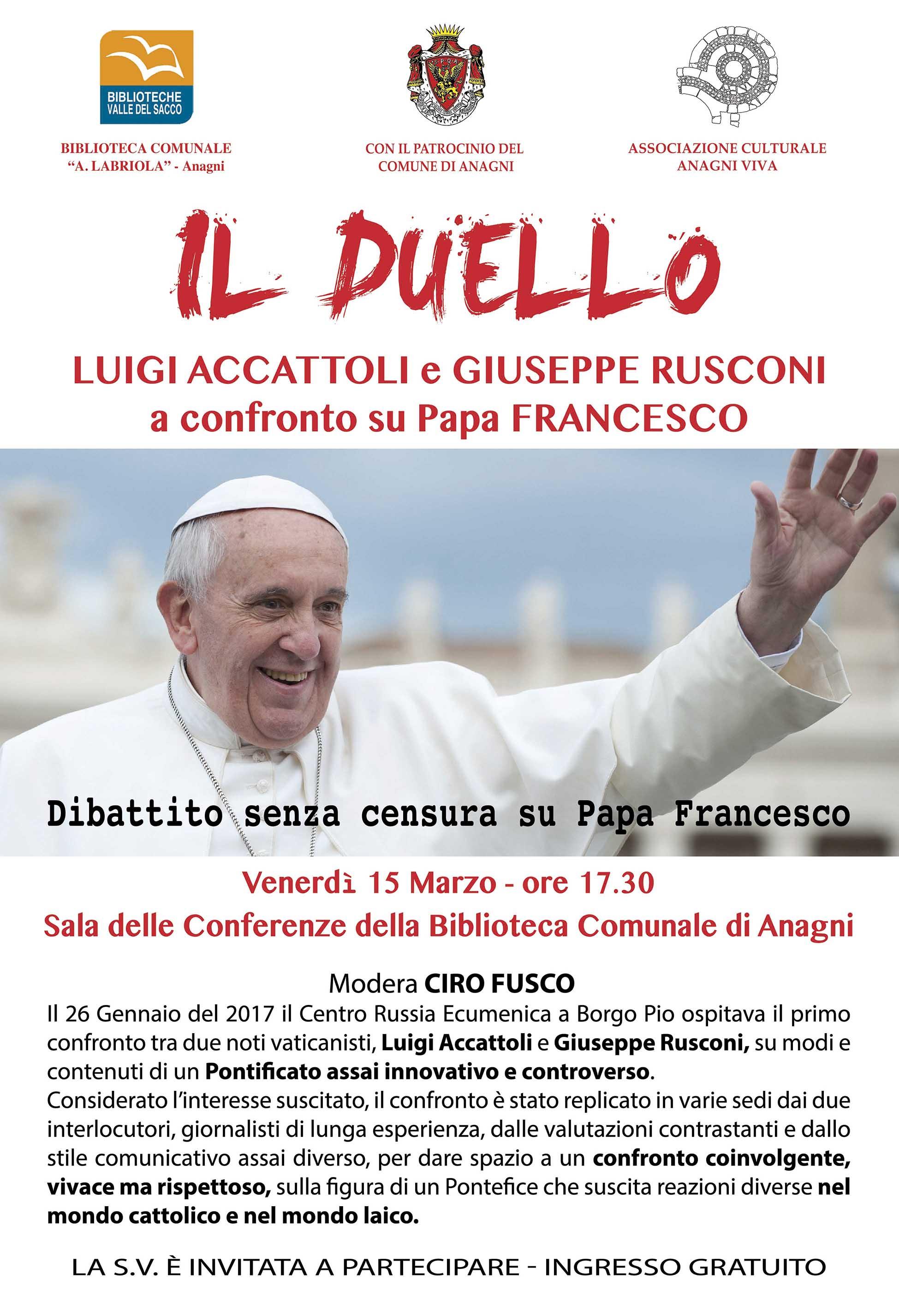 Dibattito su papa francesco